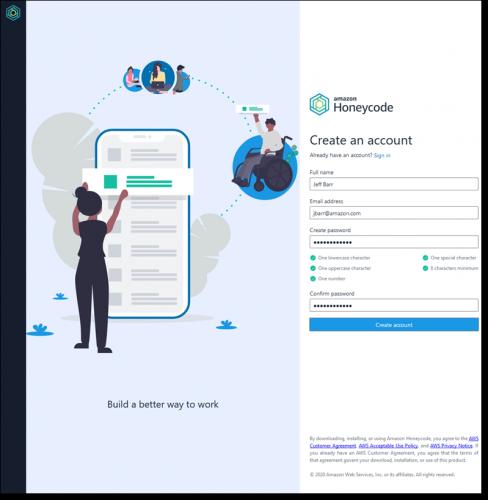 AWS meluncurkan Amazon Honeycode, layanan pembuatan aplikasi tanpa kode